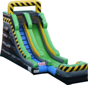 Inflatable bouncer slide in Florida Indian River, St. Lucie, and Martin counties.
