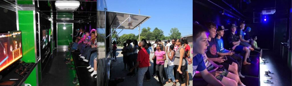 Indian River, St. Lucie, and Martin county Florida video game truck party